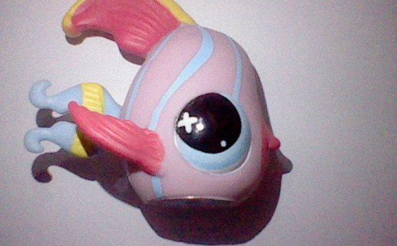 Littlest pet shop fish by