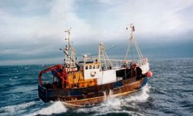 North Sea trawler
